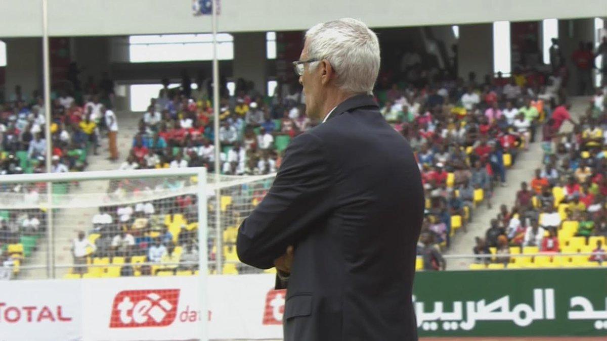 Héctor Cúper, director técnico de la Selección Nacional de Egipto